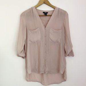 H&M Blush Pink Blouse